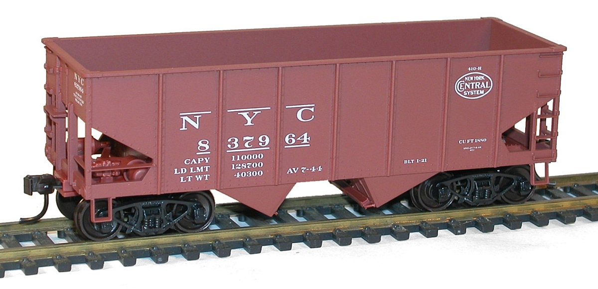 P.Mc.K./&Y. Accurail HO #2435 55 Ton USRA Twin Hopper Kit Rd #60285 NYC