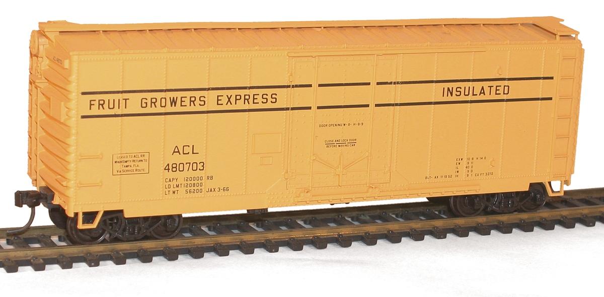 Accurail 3100 Series 50-Foot AAR Plug Door Boxcars