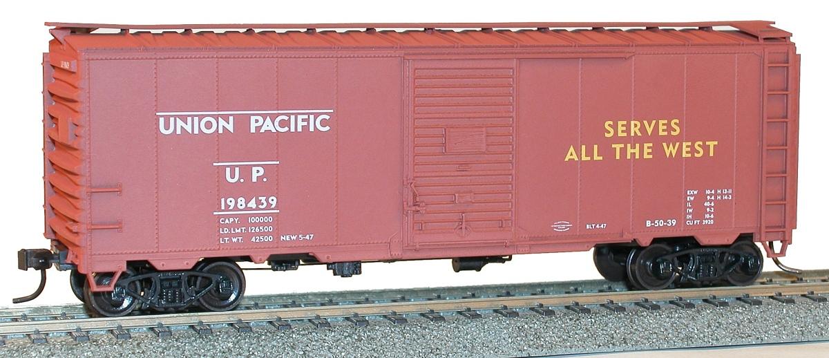 Accurail HO Scale Kit AAR 40 Single-Door Steel Box Car Southern Pacific #163175