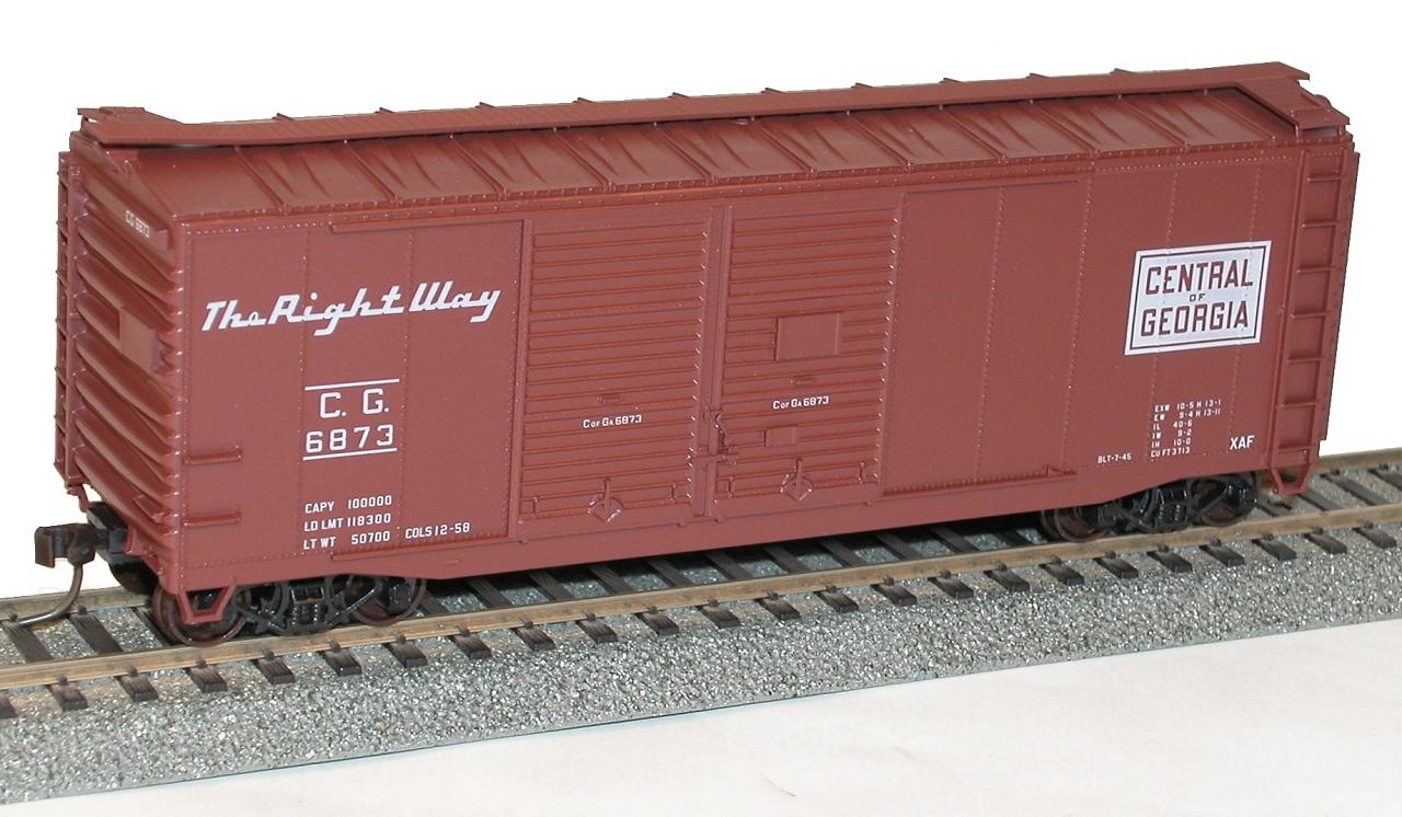 Accurail 3010 40 Foot Double Door Steel Boxcar U.P.