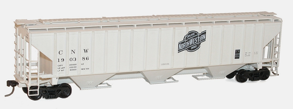 Milwaukee 6520 21 >> Accurail Pullman-Standard 4750 Grain Hopper
